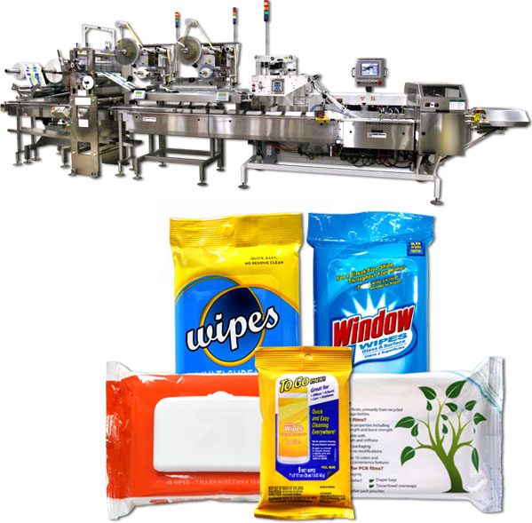 Wet Wipe Flow Wrappers Campbell Wrapper Corporation